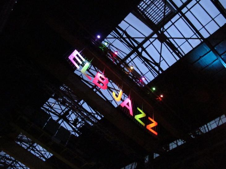Elbjazz 2013 - Maschinenbauhalle Blohm & Voss