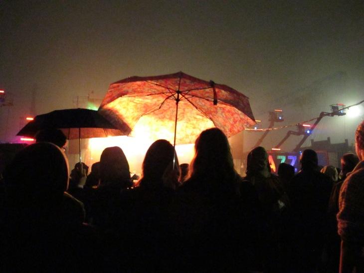 Elbjazz 2013 - Bühnenfeuer