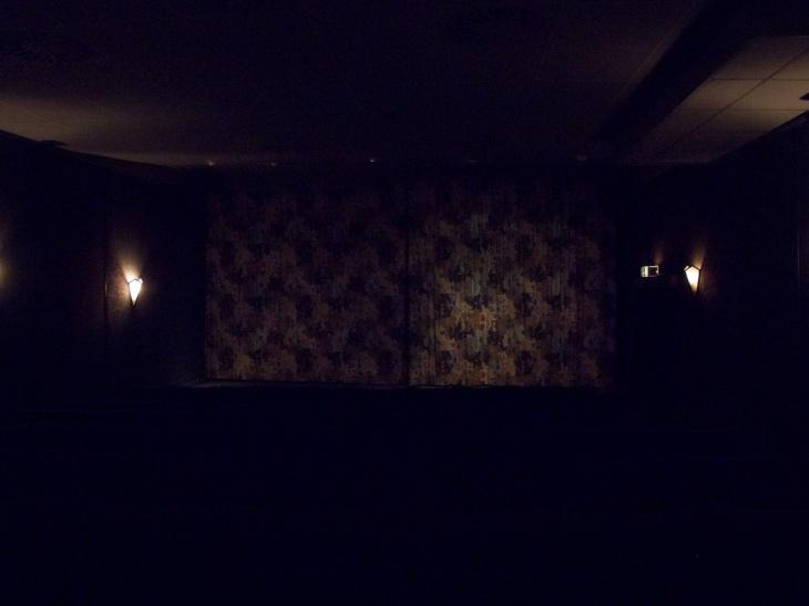 Vorhang, kleines Kino, Abaton
